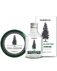 Goodfellas Smile Pino Alpestre Shaving Soap & Aftershave Set