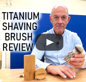 Review: The Titanium Outlaw Synthetic Shaving Brush