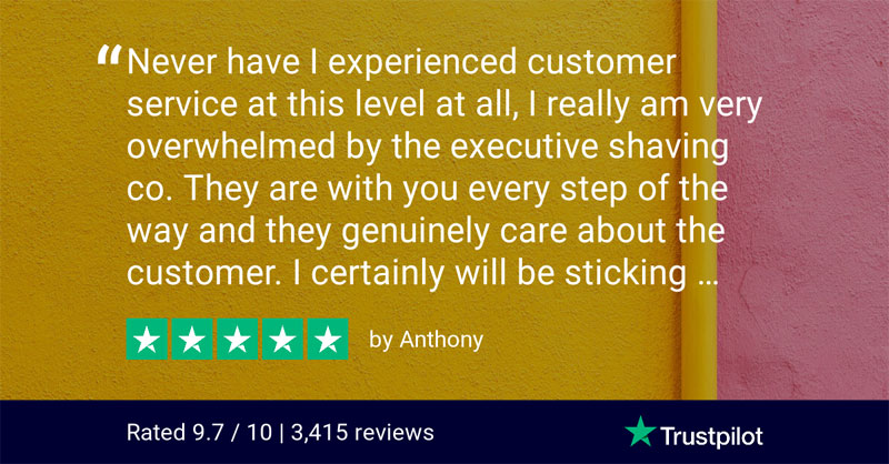 TrustPilot Review - Anthony