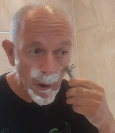 Shaving with the Genesis