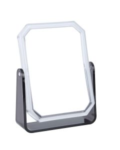 5x Magnification Travel Mirror in Smoke Colour