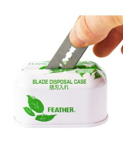 Feather Used Razor Blade Bank For Used Safety Razor Blades