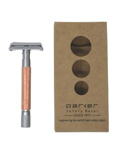 Parker 74R Butterfly Doors Rose Gold Safety Razor