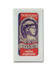Timor Safety Razor Replacement Blades (x10)
