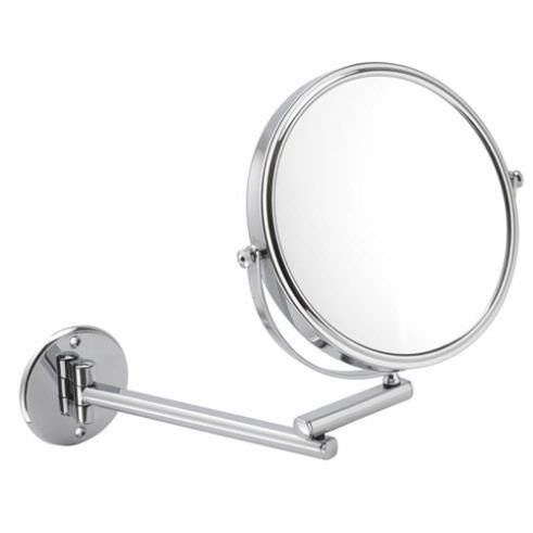 10x Magnification Mirror Wall Mounted, Magnifying Bathroom Mirror