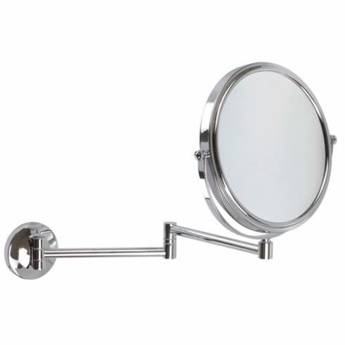 5x Magnification Wall Mounted Extendable Mirror At Executive Shaving